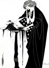 Aubrey Beardsley - The Dancers Reward from Salome -1894