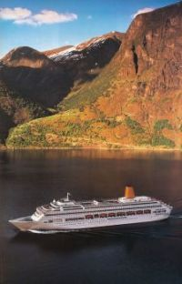 Oriana from a 1996 P&O brochure