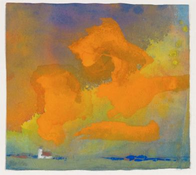 Emil Nolde, Red and Yellow Cloud