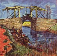 Vincent van Gogh ~ The Langlois Bridge at Arles, 1888