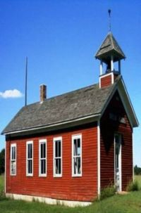 The Country One Room Schoolhouse
