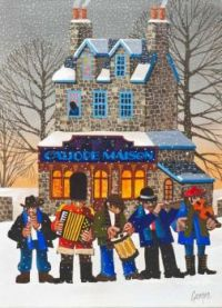 Christmas art by George Callaghan