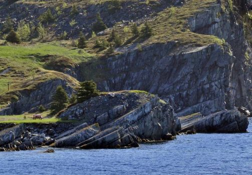 Picnic on the Rocks, Bay Roberts, NL Canada