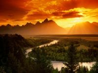 Snake River-Grand Teton National Park Wyoming