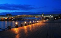 Bridge in Moscow