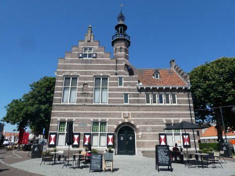 Former town hall of Ouddorp