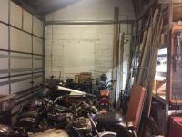 My soon to be garage rental space- well, after it's cleared out
