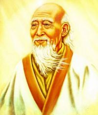 A painting of Lao Tzu (6th Century BCE)