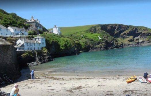 Port Isaac, Cornwall.  Doc Martin country.