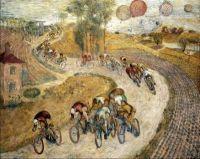 Cyclists, 1935, Jeremi Kubicki.