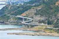 Sea Cliff Bridge, south of Sydney