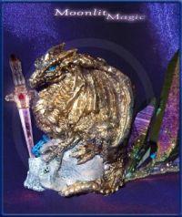 Gold Dragon Blue (Small)