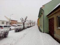 Sníh v Brně / Snow in Brno, Česko / Czechia (28. 1. 2019)