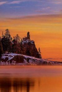 Split Rock Lighthouse_Sunrise