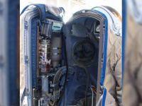 NASA backpack insides.
