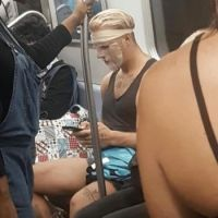 People on the subway/metro  #1