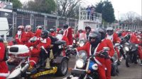 Santa ride out on the Isle of Man
