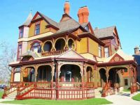 Hackley House Historic Victorian Mansion in Muskegon Michigan