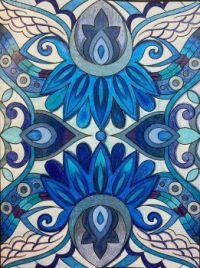Insomnia Series: Blue (medium)