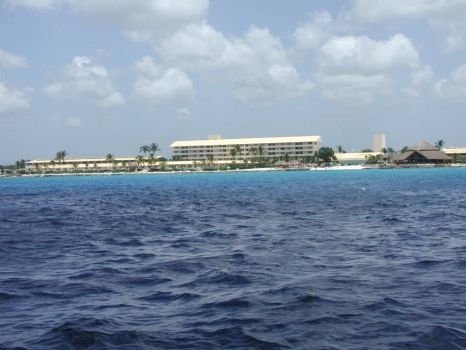 A pic of a resort in Cozumel..Not sure which one
