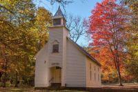 Palmer Chapel, Cataloochee, North Carolina