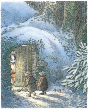 Illustration from The Wind in the Willows