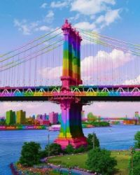 rainbowed bridge