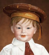 Antique French  Character Boy Doll