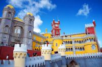 Pena Palace in Sintra, Portugal