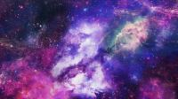 Shades of Purple Nebula