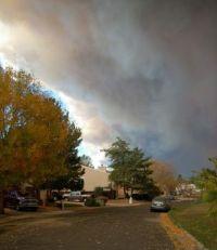 Cameron Peak Fire - The smoke in Loveland 1.