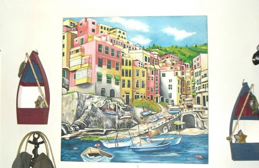 Italian Seaside Village Of Cinque Terre by Brenda