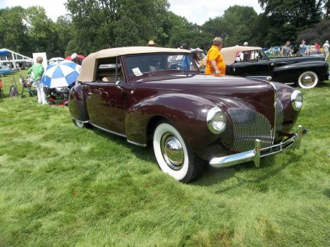 Lincoln Continetal, convertible 1941