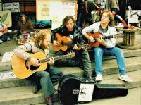 Musicians 76 - PeaceWorks Park Vigil, Seattle, 1990