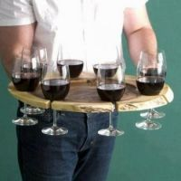 The no spill drink tray