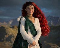 Highland Belle Portrait