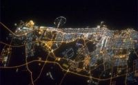 Dubai from the International Space Station