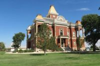 The Courthouse For Bent County, Colorado--Erected In 1889