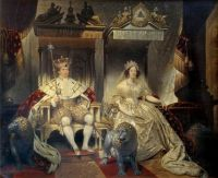 1840 Christian VIII  and Queen Caroline Amalie