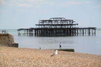 Original Brighton Pier, England.