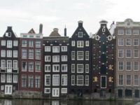 Quirky townhouses in Amsterdam