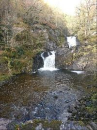Chia-aig Waterfall and Witches Cauldron, Spean Bridge, Scotland (small)