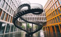 The Infinite Staircase by Olafur Eliasson in Munich