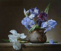 3.  ~  'Still Life with Irises'