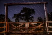 Star-Studded Ranch Fence