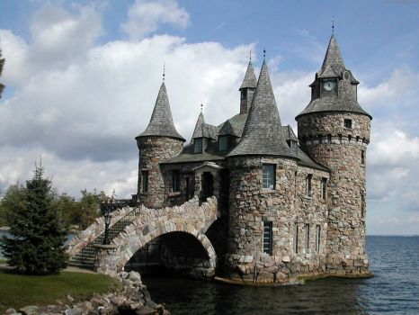 Boldt Castle, Alexandria Bay, New York state
