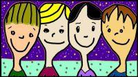 Portrait of Four Friends ☺