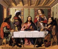 Supper at Emmaus - Marco MARZIALE,
