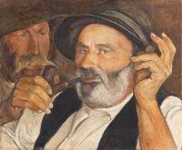 Ernest Biéler (Swiss, 1863–1948), The Good Story (1945)