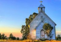 Old Abandoned Church at Sunrise...